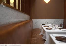 empty restaurant booth